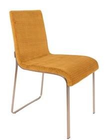 Krzesło FLOR - żółte