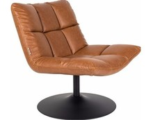 Fotel BAR VINTAGE brązowy