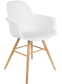 Komfortowe i designerskie krzesło z podłokietnikami ALBERT KUIP kultowego producenta Zuiver. Fotel świetnie wpasowuję się do nowoczesnej,...