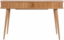 Konsola BARBIER marki Zuiver  Konsola wykonana z litego drewna jesion oraz płyty fornirowanej, mebel został pokryty bezbarwnym lakierem poliuretanowym....