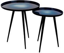Zestaw stolików FLOW - niebieski
