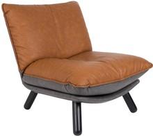 Fotel Lazy SACKmarki Zuiver to produkt wysokiej jakości. Fotel składa się z dwóch miękkich poduszek, wspartych na drewnianym stelażu. ...