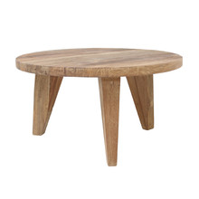 Stolik kawowy M z drewna tekowego