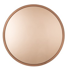 Lustro BANDIT miedziane marki Zuiver  Szkło lusterka barwione na kolor miedź.  Wymiary: 60x5 cm  W ofercie dostępne również lustro w kolorze...