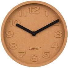 Zegar ścienny CORK TIME  Wskazówki aluminiowe malowane proszkowo na czarno.  Wymiary:31x5,5 cm (ØxH) Baterie: 1xAA (nie dołączone)