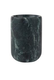 Zielony marmurowy CUP MARBLE kubeczek/wazon  Wymiary: średnica całkowita: 7 cm średnica otworu: 5 cm wysokość: 10 cm  Uwaga: produkt wykonany...