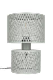 Lampa stołowa GRID szara marki Zuiver  Materiał: Siatka żelazna pomalowana w szarym odcieniu na przeźroczystej plexi i żelaza  Kabel: 150 cm...