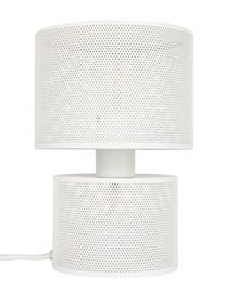 Lampa stołowa GRID białamarki Zuiver  Materiał: Siatka żelazna pomalowana w białym odcieniu na przeźroczystej plexi i żelaza  Kabel: 150 cm...