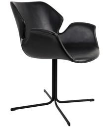 Fotel NIKKI - czarny