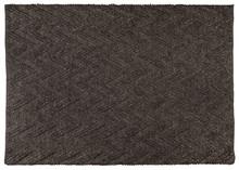 Dywan PUNJA 170 x 240 grafitowy marki Zuiver  Ręcznie tkany dywan wykonany z wełny i wiskozy.  Wymiary 170 x 240 cm Wysokość: 10 mm