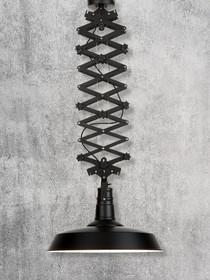 Lampa wisząca VANCOUVER/H/B, czarna