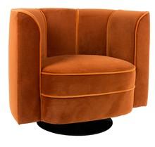Fotel FLOWER - pomarańczowy