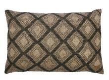 Poduszka dekoracyjna Double check  Poduszka dekoracyjna o wzorze szachownicy.Tył poduszki posiada zamek umożliwiający zdjęcie poszewki.  Wymiary:  -...