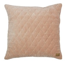 Poduszka Cuddle kolor cielisty  Dostępna w kolorach ciemnoszarym, kasztanowym, cielistym.  Wymiary:  - 45x45 cm  Materiał:  - cotton 100%