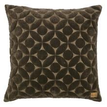 Poduszka dekoracyjna Snuggle ciemnoszary  Dostępna w kolorach ciemnoszarym, cielistym.  Wymiary:  - 50x50 cm  Materiał:  - cotton 100%