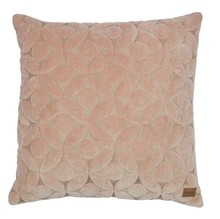 Poduszka dekoracyjna Snuggle cielisty  Dostępna w kolorach ciemnoszarym, cielistym.  Wymiary:  - 50x50 cm  Materiał:  - cotton 100%