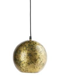 Lampa wisząca Cannonball  Lampa wisząca Cannonball. Abażur wykonany z metalu w kolorze postarzanego mosiądzu z podsufitką w tym samym kolorze. ...