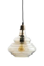 Lampa wisząca Pure vintage dostępna jest w dwóch kolorach wykończenia kloszu: mosiądzu i szarym.  Kolor: antique mosiężny Materiał: szkło Wymiary:...
