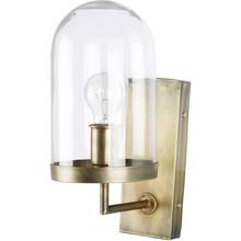 Lampa ścienna Cover Up, kolor mosiądzu  Lampa ścienna Cover Up dostępna jest w dwóch kolorach wykończenia: mosiądzu i czarnym. Lampa posiada szklany...