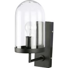 Lampa ścienna Cover Up dostępna jest w dwóch kolorach wykończenia: mosiądzu i czarnym.  Lampaposiadaszklanyklosz. Wymiary:36x28...