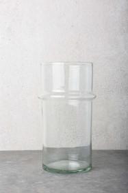 Szklany wazon ręcznie wykonywany w marokańskiej fabryce Verre BeldiWymiary:14 x 28 cmPojemność: 3500 mlProdukty marki Urban Nature Culture łączą w...