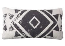 Kolor: biało-czarny Materiał: 100% bawełna Wymiary: 45X45 cm
