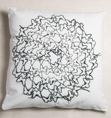 Poduszka dekoracyjna Butterfly. Motyl symbol przemiany i odrodzenia, jego grafika wykonana w technice fabel przypomina nam o tym że powinniśmy rozwijać...