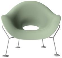 Fotel Pupa zielony outdoorowy