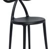 Krzesło Ribbon czarny mat
