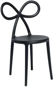 Krzesło RIBBON - czarny mat