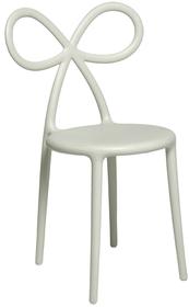 Zestaw 2 krzeseł RIBBON - biały mat