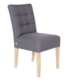 Krzesło stołowe TIJMEN - szare