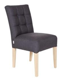Krzesło stołowe TIJMEN - antracytowe