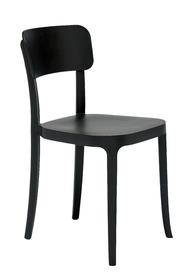 Krzesło K czarne  K Chair ma kształt krzesła, które wszyscy znamy na zawsze i ma miejsce w zbiorowej nieświadomości, jako najbardziej klasyczne i...