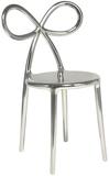 Krzesło Ribbon metalowe srebrne  Krzesła Ribbon zostały zaprojektowane przez Nika Zupanc, która dołączyła do grona wybitnych projektantów...