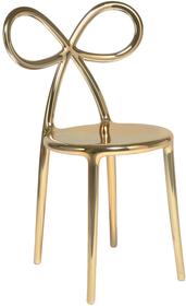 Krzesło RIBBON metalowe - złote