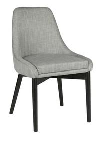 Krzesła KOEN jasnoszare - zestaw 2 sztuk