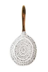 Materiał: porcelana Wymiary: 19,5 x 19 x 2 cm Waga: 115gr