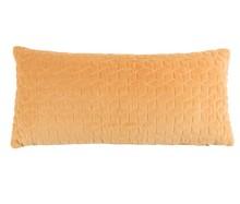 Poduszka IRYS w kolorze brązowym.  Materiał: Tkanina wykonana z 80% bawełny i 20% poliestru, naszywany wzór graficzny. Wypełnienie: kulki...