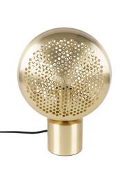 Lampa stołowa GRINGO marki Zuiver powstała z połączenia mosiężnych i złotych elementów.  Model został wyposażony w plastikowy włącznik światła...