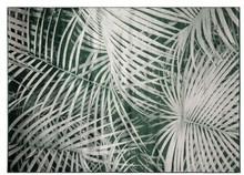 Dywan Palm, marki Zuiver  Materiał:91% sztuczny jedwab, 9%, spód wykończony lateksem.  Wymiary:240 x 170 x 0,55 cm