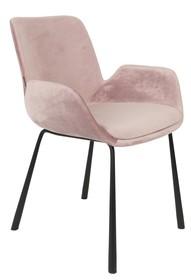 Fotel BRITcharakteryzuje się wspaniałym wzornictwem i wysoką jakością. Wykonany został z welurowej tkaniny oraz metalowej podstawy. ...