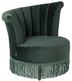 Fotel FLAIR - ciemnozielony