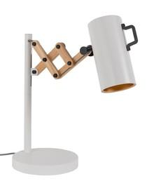 Lampa Flex biała z regulowaną wysokością.  Wymiary: 22x29,5-45x50 cm (WxDxH) Długość kabla: 160 cm Waga: 5,1 kg