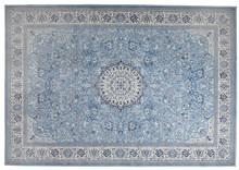 Dywan Milkmaid, marki Zuiver  Materiał:72% sztuczny jedwab, 14% bawełna i 14% poliester  Wymiary:200 x 300 x 0,5 cm