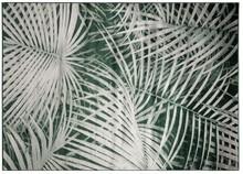 Dywan Palm, marki Zuiver  Materiał:91% sztuczny jedwab, 9%, spód wykończony lateksem  Wymiary: 200 x 300x 0,55 cm