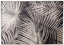 Dywan Palm, marki Zuiver  Materiał:91% sztuczny jedwab, 9%, spód wykończony lateksem.  Wymiary:200 x 300 x 0,55 cm
