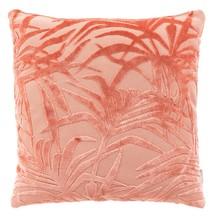 Poduszka MIAMI FLAMINGO różowa  Materiał: Tkanina z wzorem: 79% wiskoza, 21% poliester Wypełnienie: 100% poliester  Wymiary: 45x45x12 cm