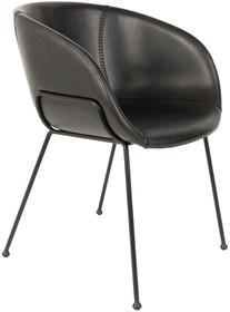 Fotel Festonznanej marki Zuiver to zgrabne połączenie smukłej metalowej ramy oraz opływowego siedziska. Krzesło świetnie sprawdza się zarówno...