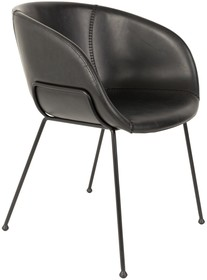 Fotel FESTON - czarny